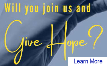 Will you join us and Give Hope